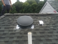 attic fan installation