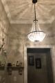 custom chandelier install