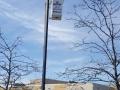 Led retrofit parking lot lighting