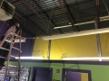 high bay lighting install