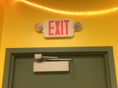 Exit Signs/Emergency Lighting