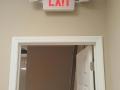 exit sign light