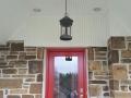 exterior chandelier