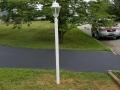 lamp post installation