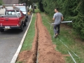 underground conduit installation