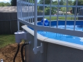 above ground pool pump hookup