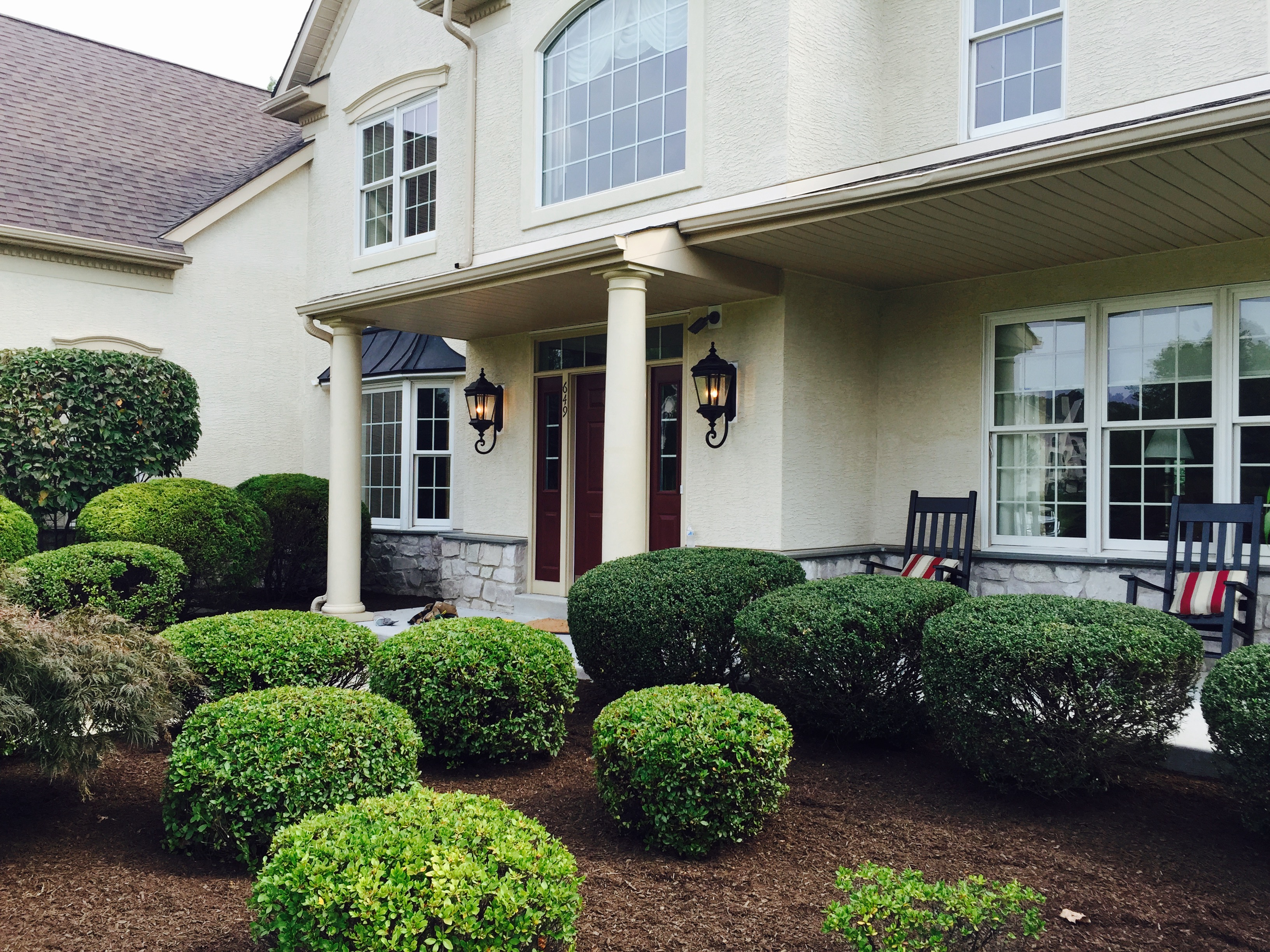 chester county electrician exterior lighting installation