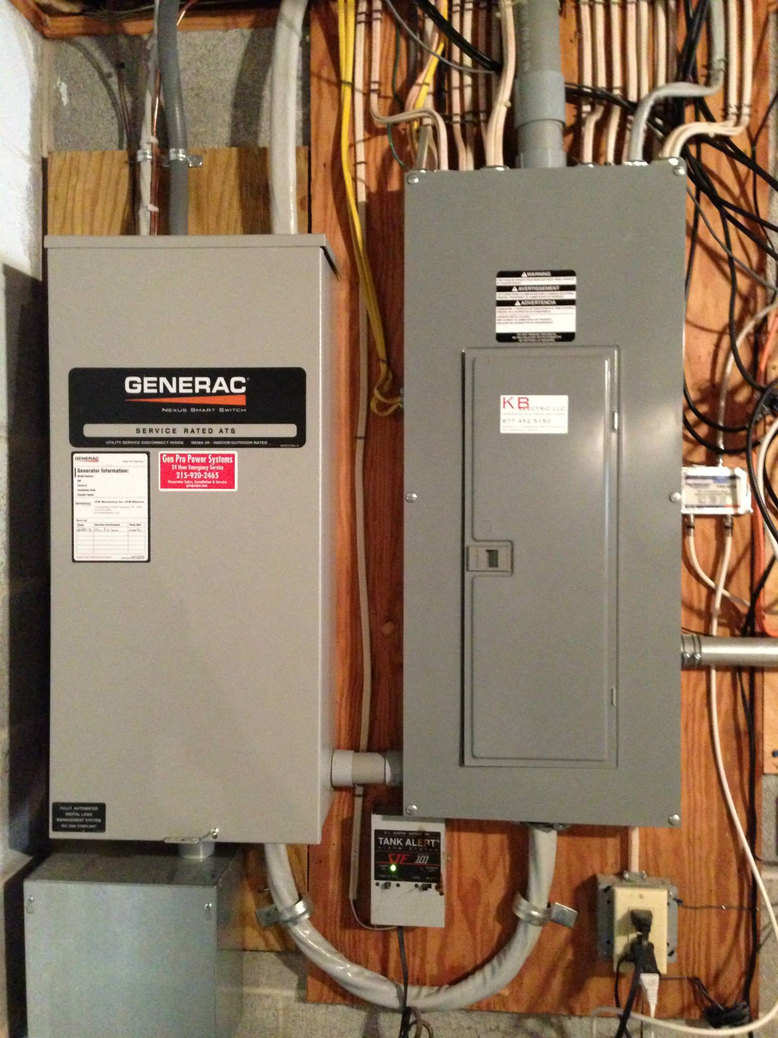 Generator Panel Installation - residential electrician services