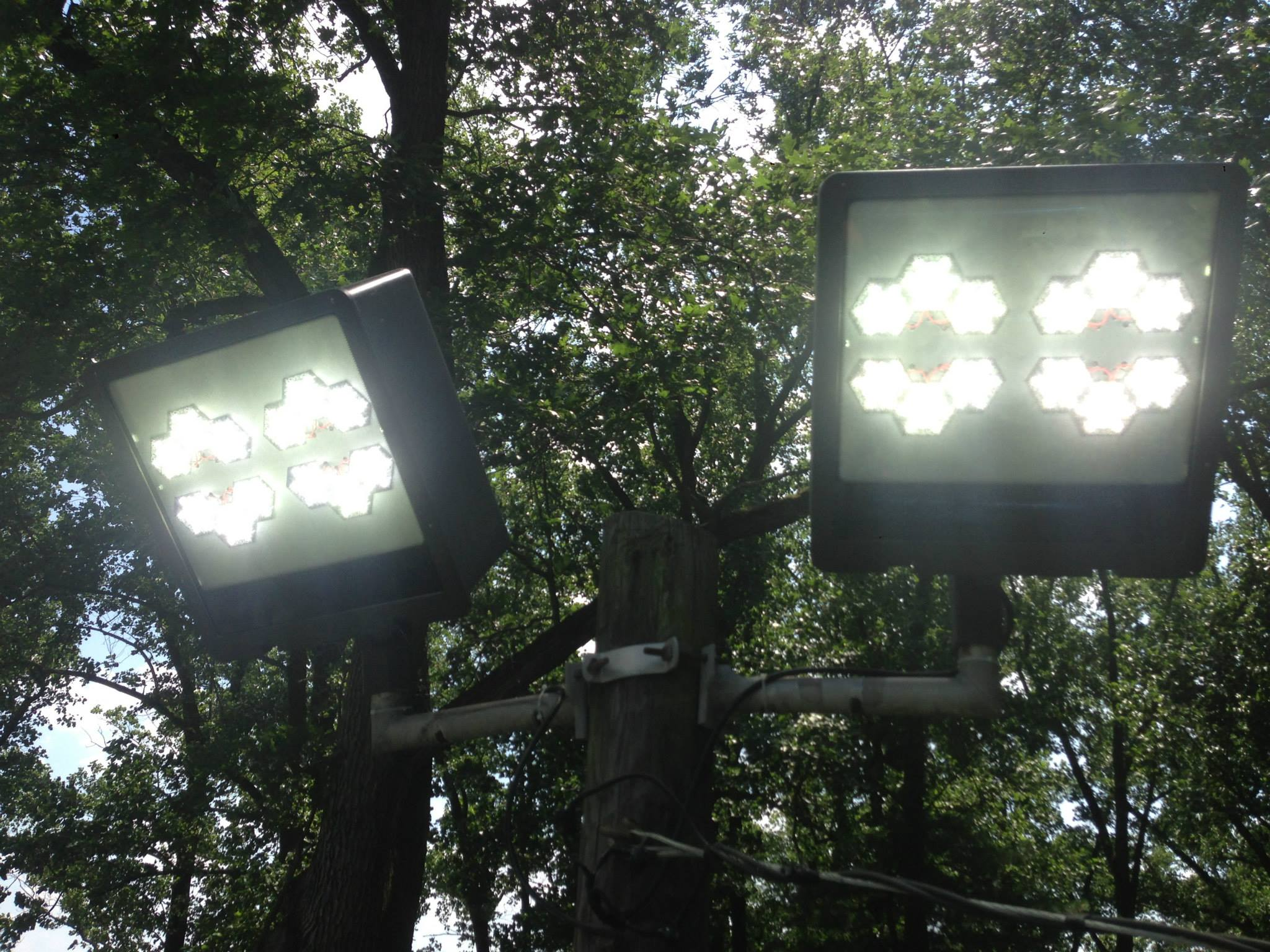 LED Lights - bucket truck services