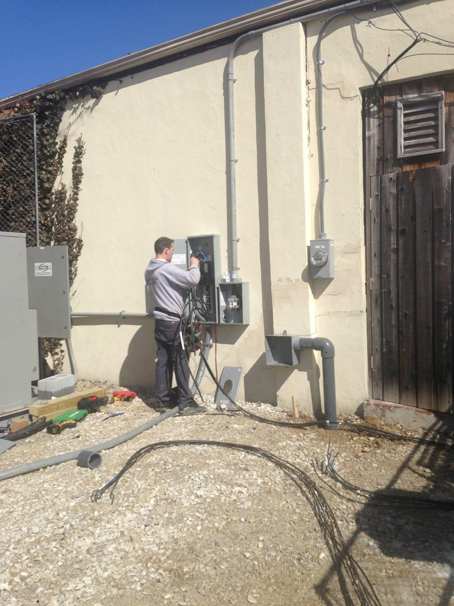 electrical panel repair - electrical repair services