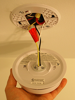 hardwired smoke detector - smoke and carbon monoxide detector installation