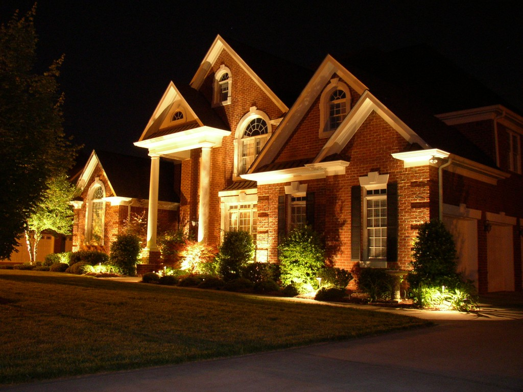 home security lighting- landscape lighting
