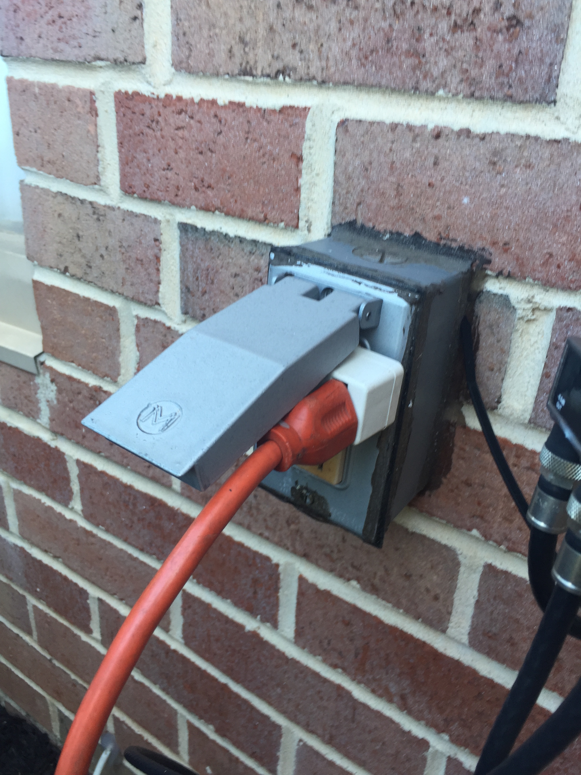 Outdoor outlet covers why the bubble cover is mandatory on install electrical outlet brick wall Series Circuit with Outlets Guide Electrical Outlet