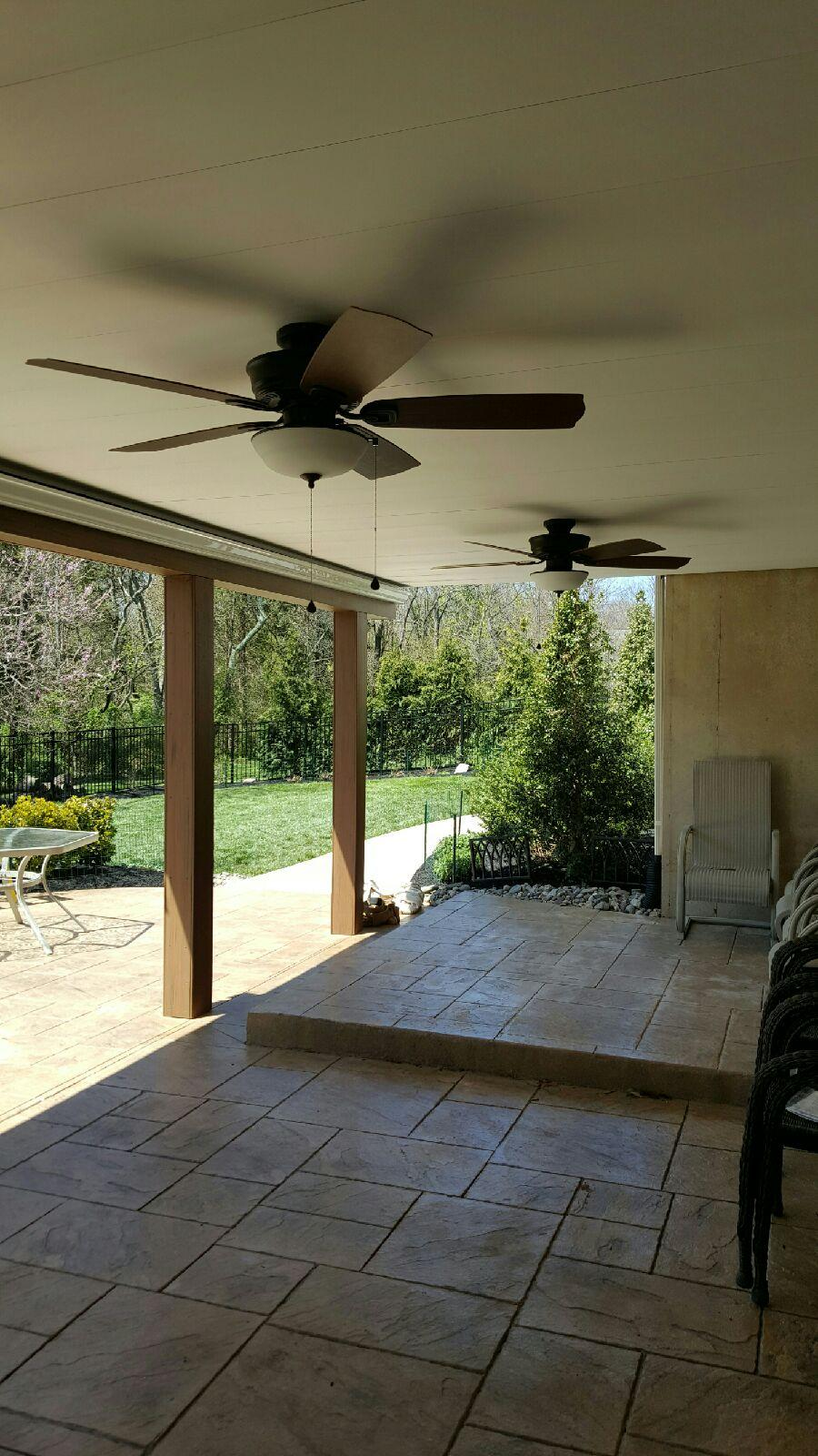 Outdoor ceiling fans benefits and choosing the right type outdoor ceiling fans aloadofball Image collections