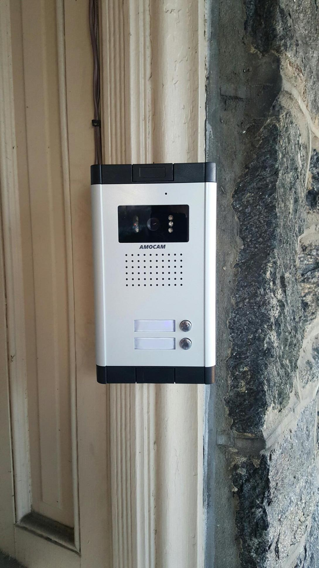 intercom systems - apartment building