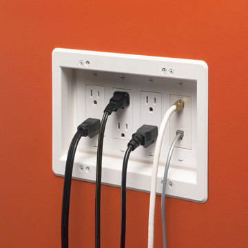 Recessed Outlets: What Are They and Why Should I Use One?
