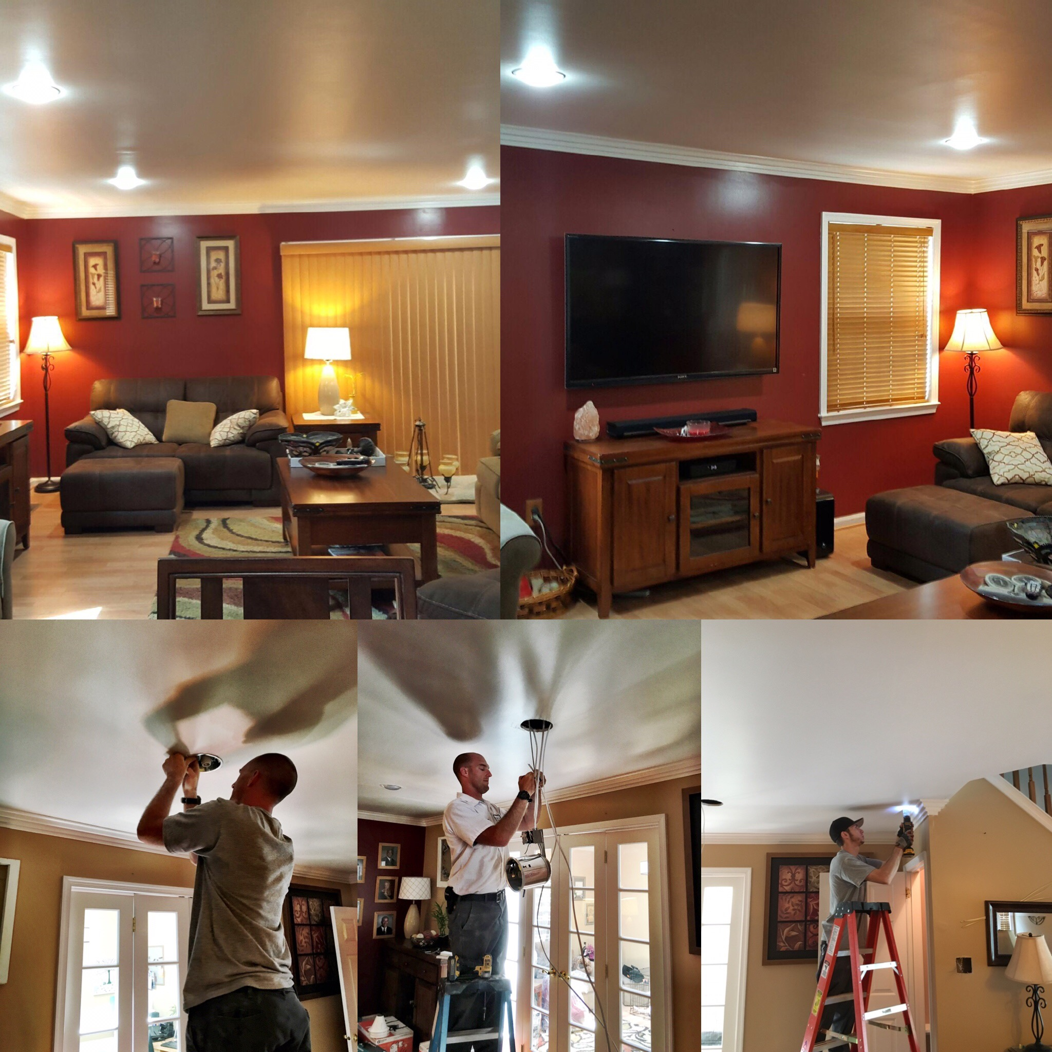 recessed LED bulbs - reduce your electricity bill