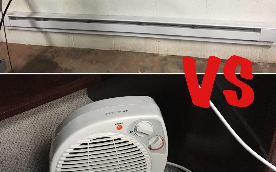 Electric Baseboard Heaters Vs. Space Heaters: Which Is Best?
