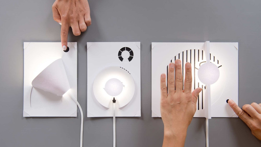 Create Your Own Lamp with Paint and Paper: The Electric Paint Lamp Kit