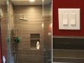 recessed shower light