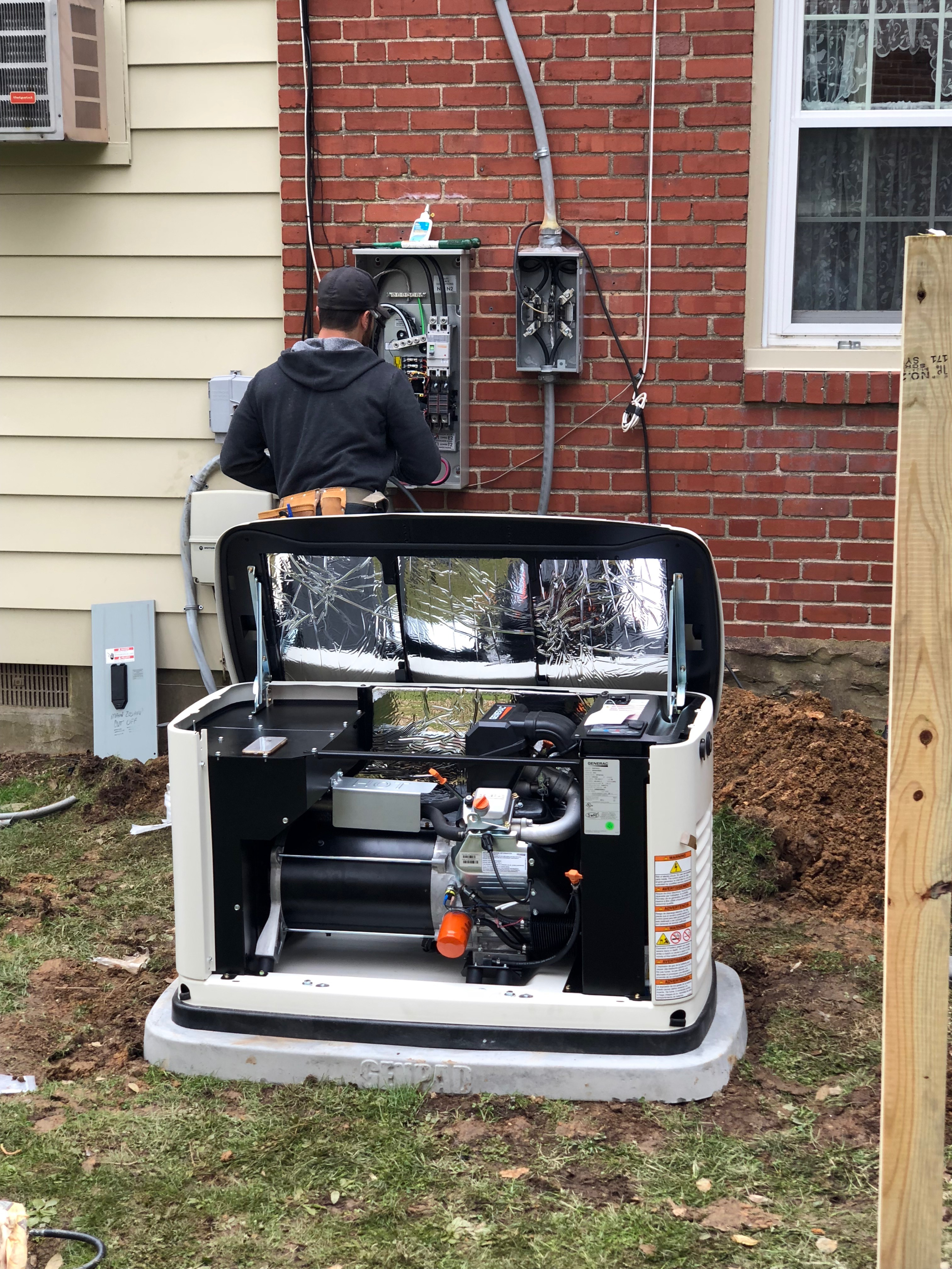 Gallery View Our Work Emergency Generators And Backup Generator Power Installation Standby
