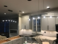 recessed and above counter lighting