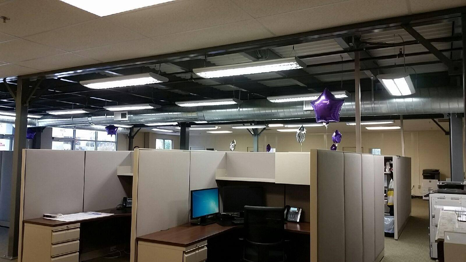Delaware County Electrician Commercial Wiring Flouresent Lights Office Lighting