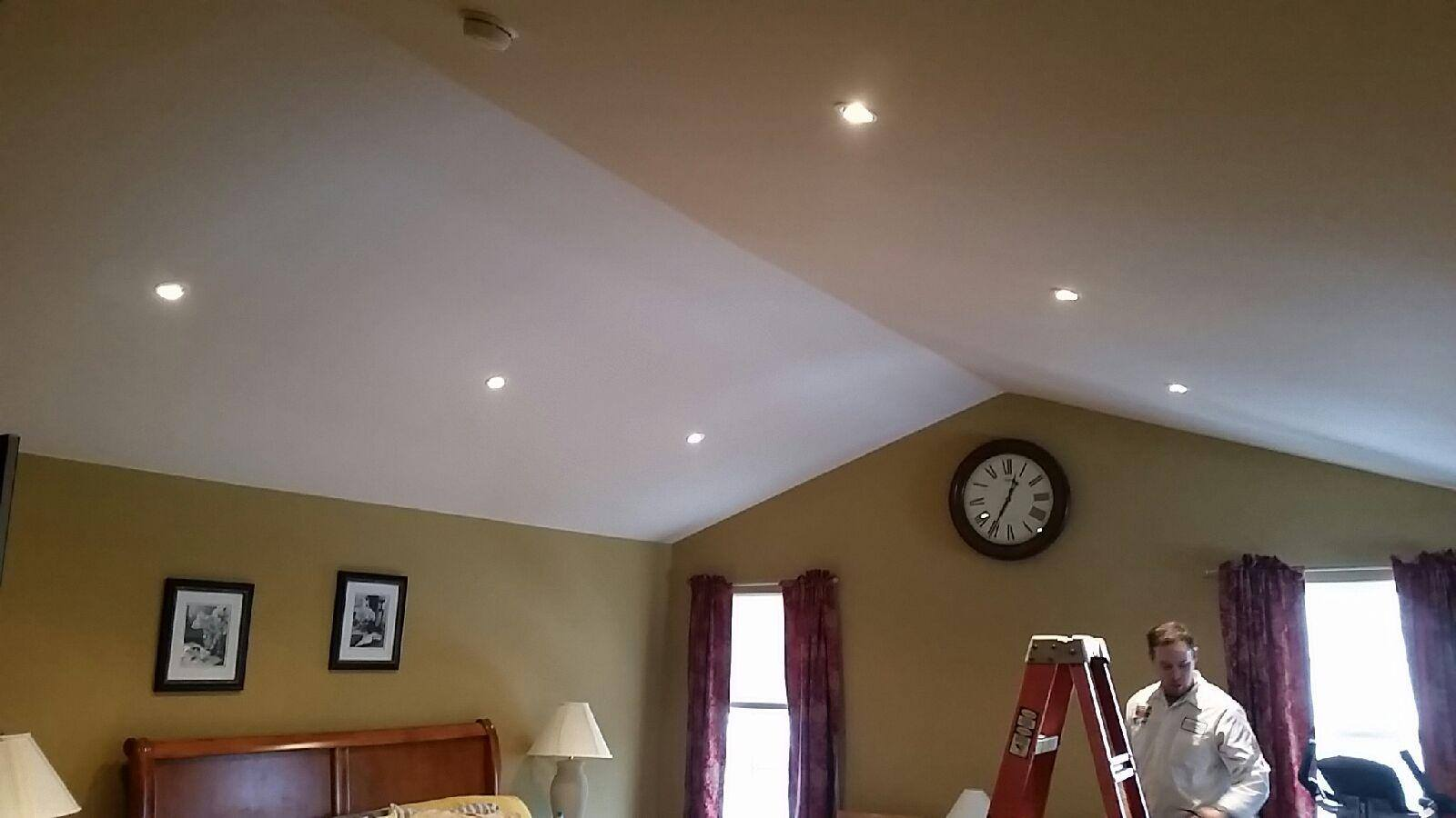 Sloped Ceiling Recessed Lighting: Hire A Licensed Electrician