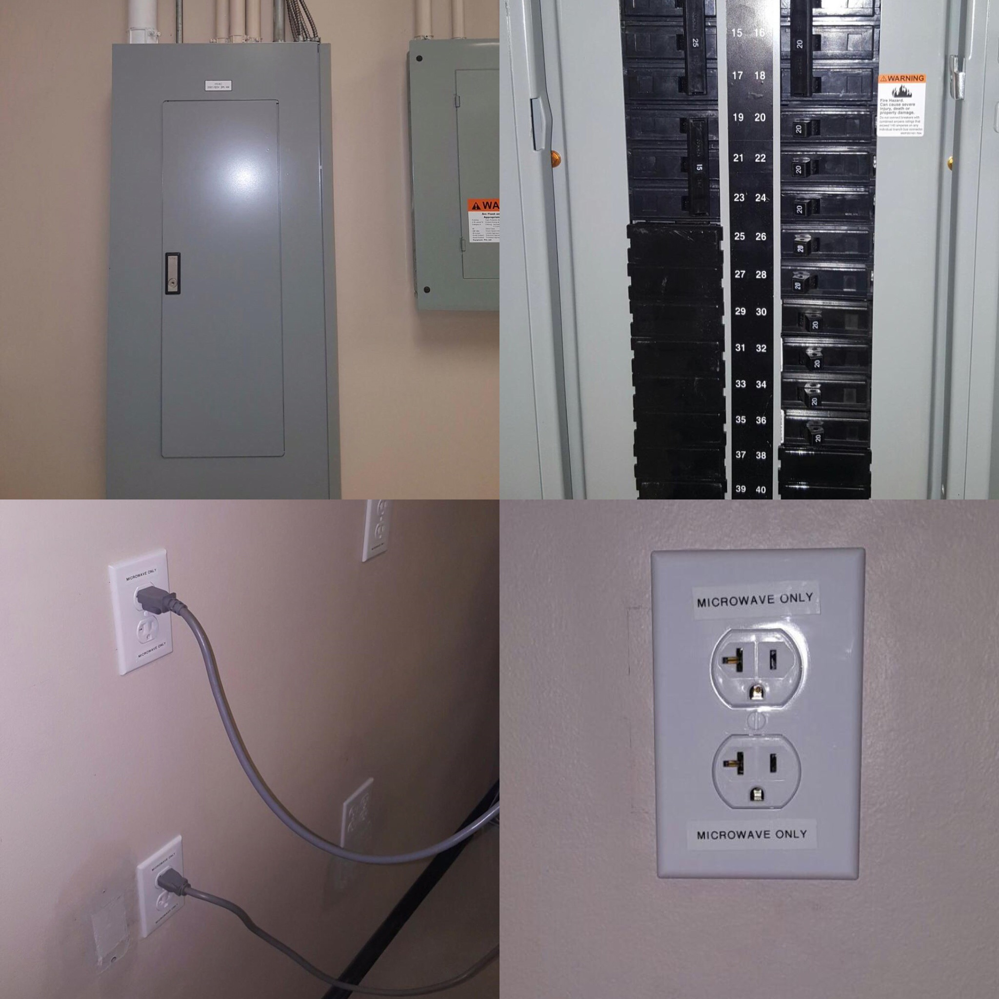 Dedicated Circuits Appliance Wiring Electrician Rewiring A House One Circuit At Time And Outlets For Appliances