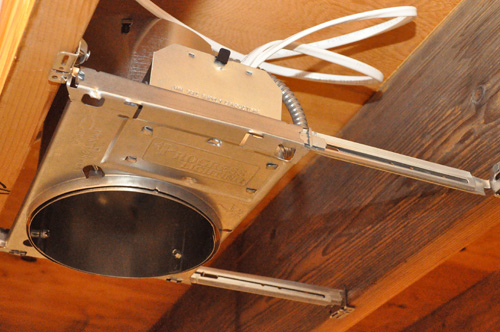 New Construction Recessed Lights