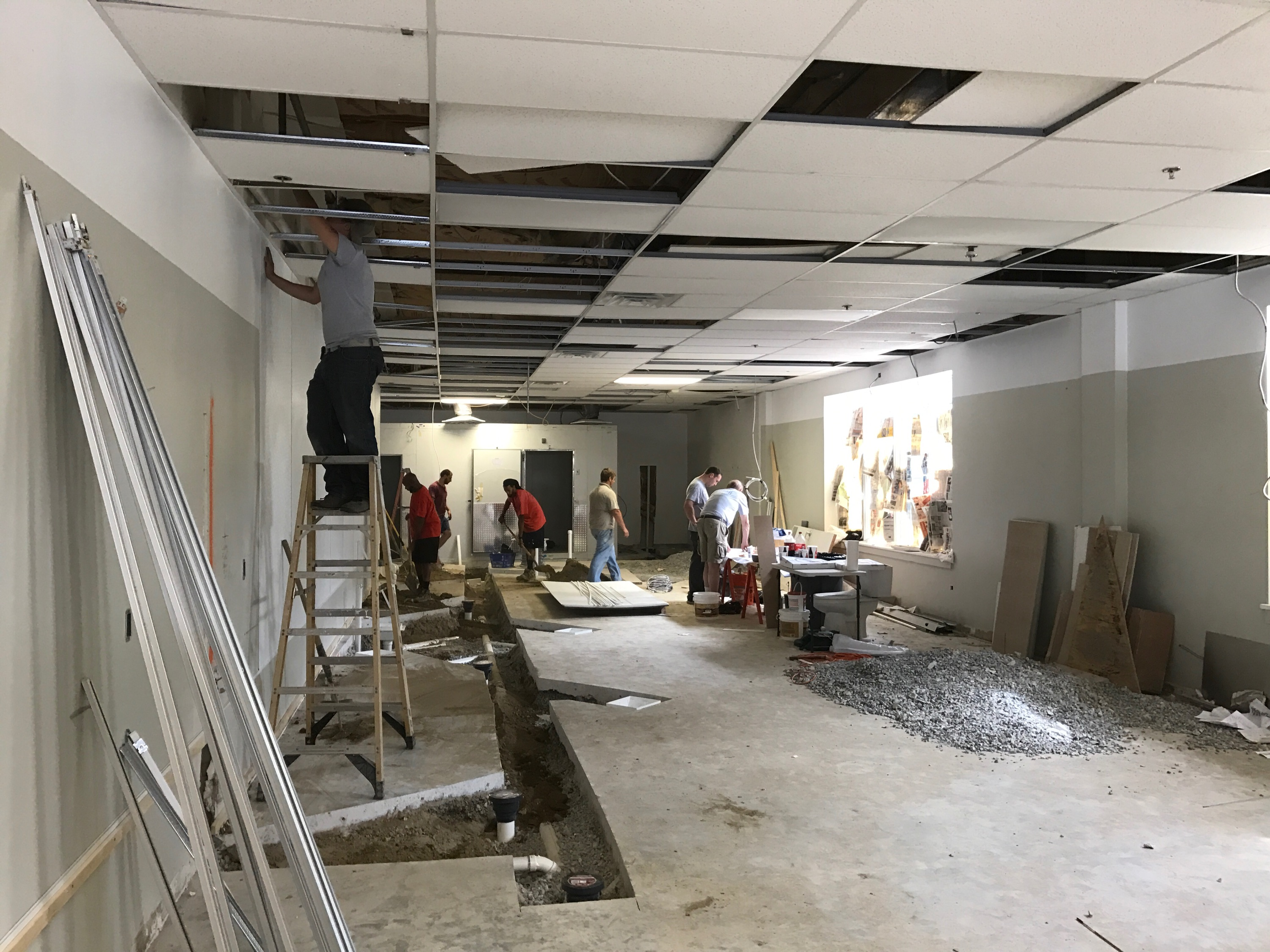 Electrical Remodeling and Renovation Services for Gadaleto's Seafood Market in West Chester, PA