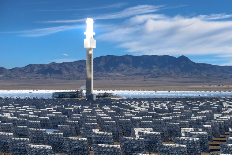 world s largest solar power plant may be coming to nevada power plant general layout #2