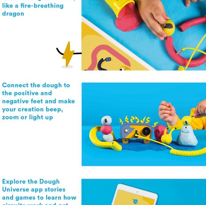 Dough Universe: Kids Play Dough That Teaches Them About Electricity