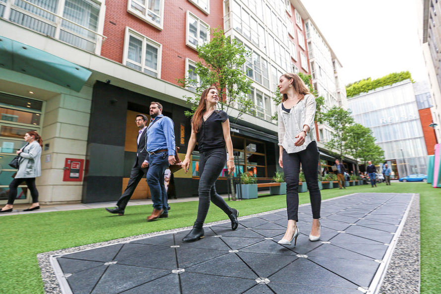 World's First Energy-Generating Street Hits London