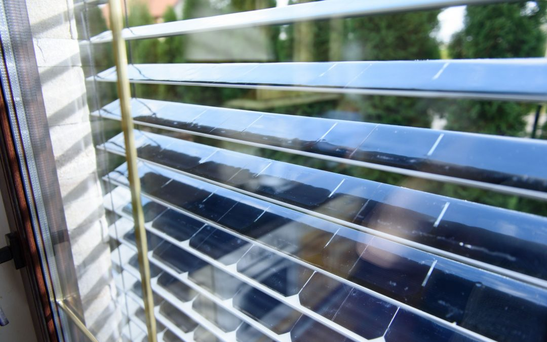 SolarGaps: 'World's First Energy Generating Solar Panel Window Blinds'