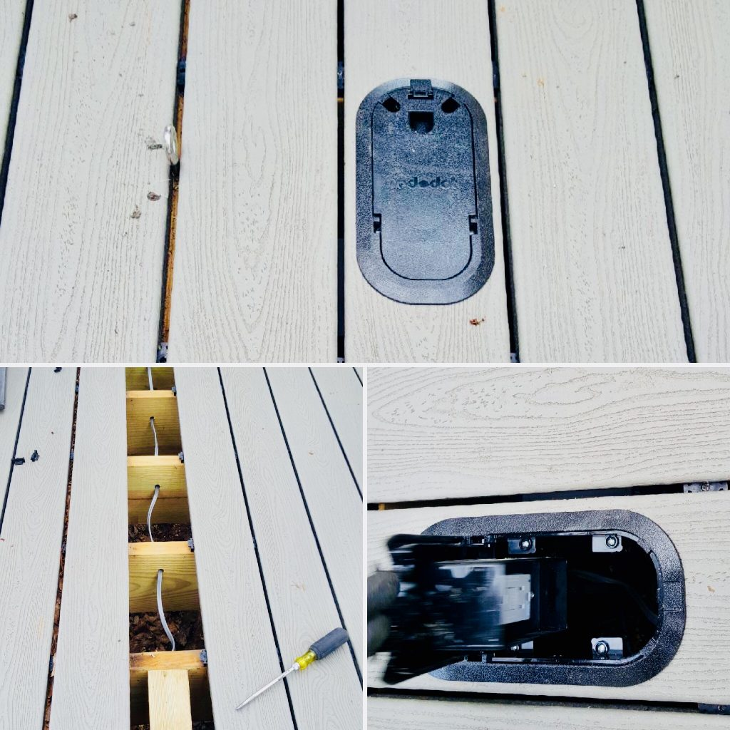 Flush Mount Deck Floor Receptacle The Must Have Deck Outlet