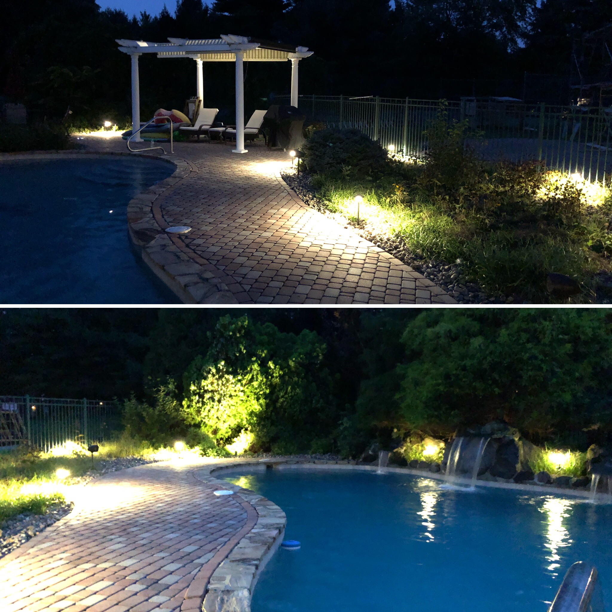 Image of: Pool Area Lighting Why You Should Put Lighting Around A Pool