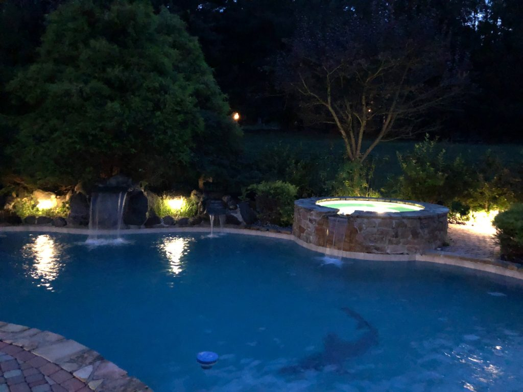 Pool Area Lighting Ideas