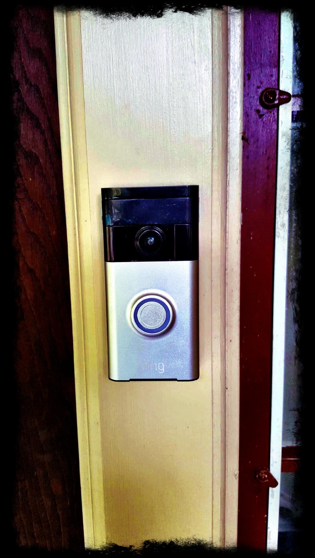 wired video doorbell installation