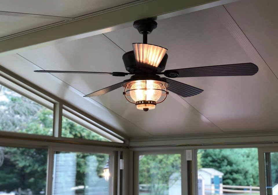 Using Ceiling Fans Year Round: Reverse Your Ceiling Fan in Fall & Winter