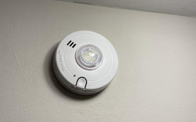 LED Strobe Light Smoke Alarm Installation For Hearing Impaired: KB Electric LLC